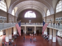 Registry Room at Ellis Island