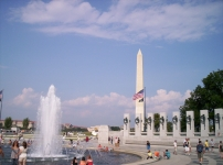 Washington Monument & World War II Memorial