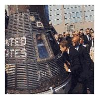 John Glenn Space Capsule