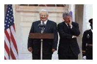 Clinton and Yeltsin