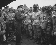Eisenhower with Troops