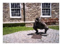 Roy Campanella Statue at Baseball Hall of Fame