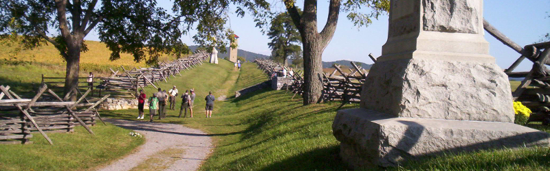 Sunken Road at Antietam