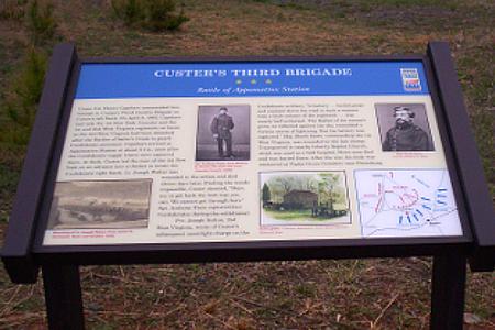 Interpretive Signs, Appomattox Station Battlefield