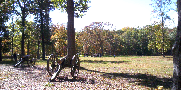Cannons at Ball's Bluff