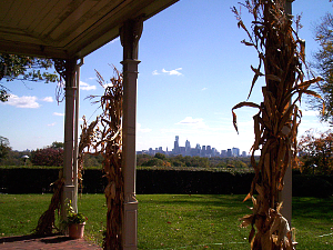 Belmont Mansion, Philadelphia Skyline