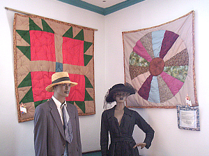 Underground Railroad Quilt Flags and Exhibits, Belmont Mansion