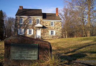 George Washington's Headquarters, Battle of Brandywine