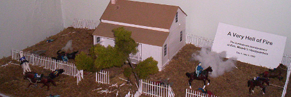 Civil War Tails, Diorama of Meade's Headquarters