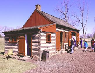Blacksmith Shed at Daniel Boone Homestead