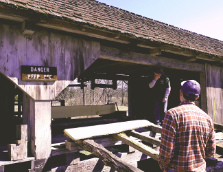 Sawmill at Daniel Boone Homestead