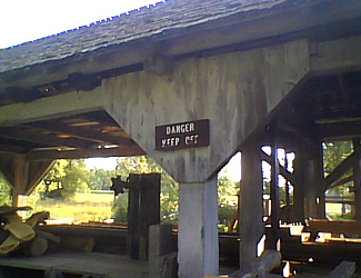 Sawmill at Daniel Boone Homestead
