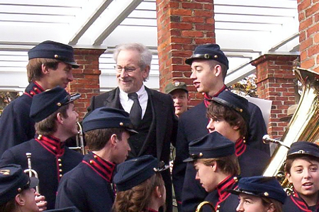 Director Steven Spielberg at Gettysburg Dedication Day 2012
