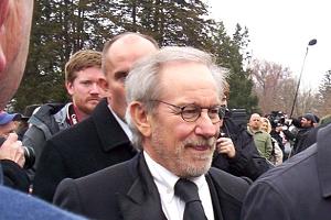Steven Spielberg at Gettysbug