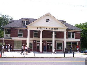 Old Visitor Center, Gettysburg