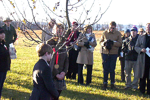 Gettysburg Journey Through Hallowed Ground Project Tree Planting Ceremony