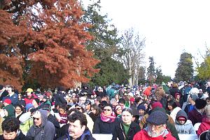 Gettysburg 150th Anniversary Ceremony Crowds