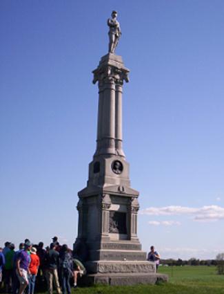 Michigan Cavalry and Custer Statue, East Cavalry Field, Gettysburg