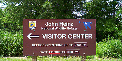 Heinz National Wildlife Refuge