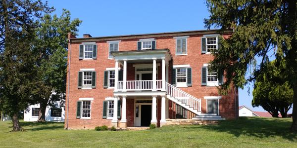 Pritchard House on the Kernstown Battlefield