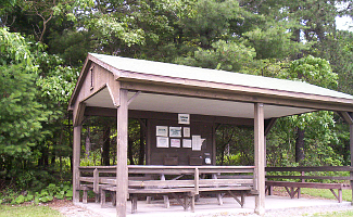 Picnic Pavilion, Michaeux State Forest, Caledonia, Pennsylvania