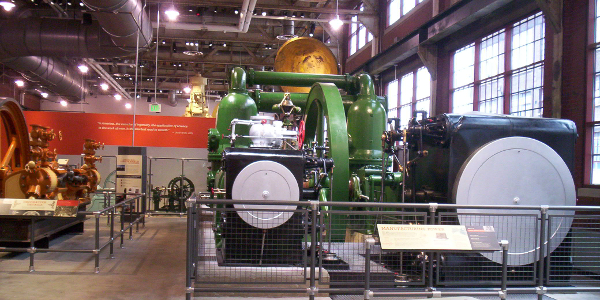 Corliss Engine, National Museum of Industrial History