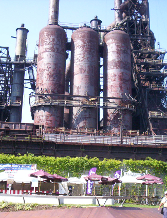 Steelstacks of Bethlehem Steel.