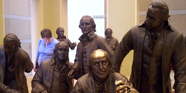 Signers Hall at the National Constitution Center