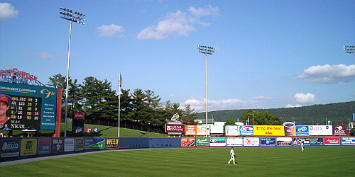 First Energy Stadium, home of the Reading Fightin Phils
