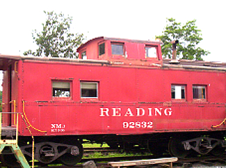 Reading Railroad car