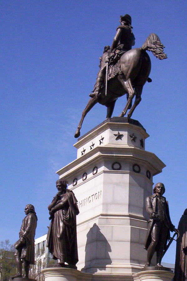 Washington's Equestrian Statue