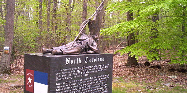 North Carolina Monument, South Mountain Battlefield