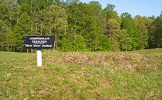 Confederate Trenches, Spotsylvania