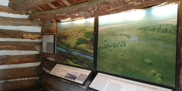 Exhibits in Muhlenberg Huts