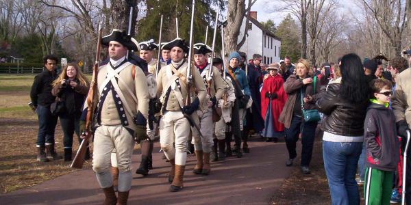 Washington's Crossing Reenactment