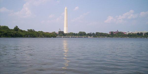 Washington Monument and Tidal Basin
