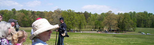 Living History on Saunders Field, Battle of the Wilderness