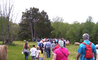 Park Ranger tour at Wilderness Battlefield