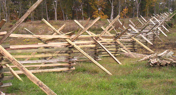 Fenceline at Third Winchester Battlefield
