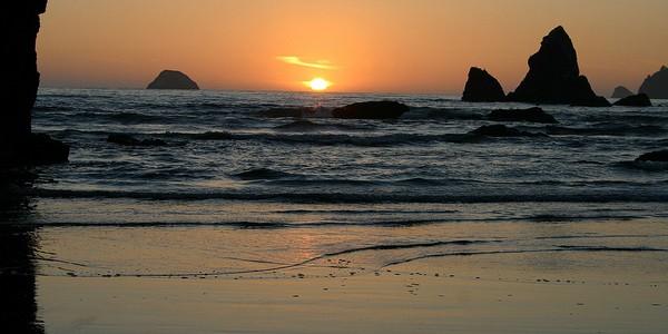 California Coastal NM sunset