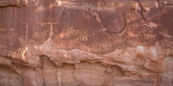 Petroglyphs at Grand Staircase-Escalante