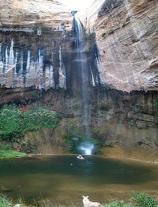 Grand Staircase-Escalante Waterfall
