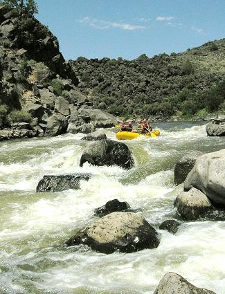 Rafting at Rio Grande del  Norte National Monument