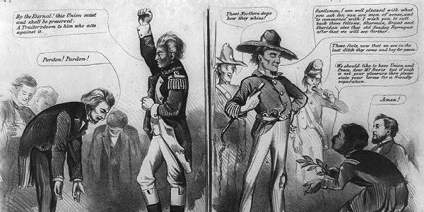 Nullification and Force Act Cartoon