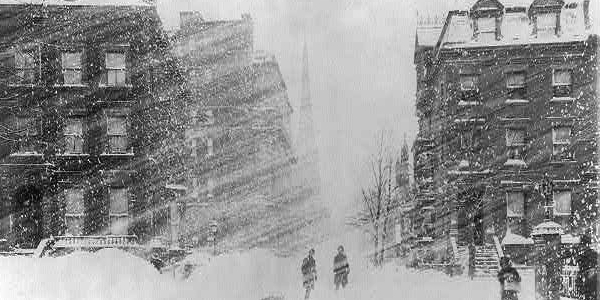 Blizzard of 1888 in New York City