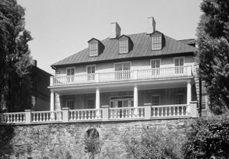 Carlyle House, Alexandria, Virginia