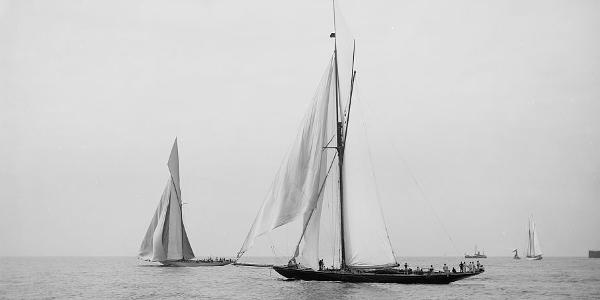 1893 America's Cup race