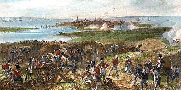 Siege of Charleston, American Revolution