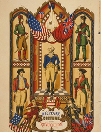 Military costumes of the American Revolution