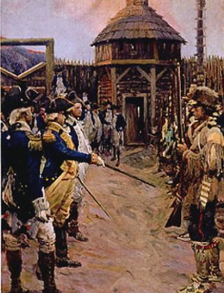 Recruits in the American Revolution